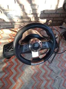 Vendo volante y pedal para Play2