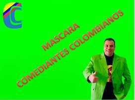 Comediantes colombianos Show virtual