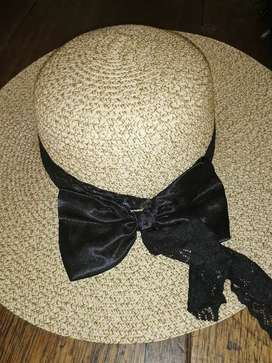 Sombreros con lazo para mujer