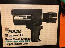 Camara Antigua 70s Kmart Macro-800 Focal Macro Zoom Super 8 Movie