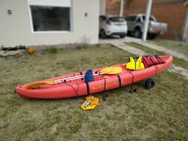 Usado, Kayak Patagonian Delta segunda mano  Bahía Blanca, Buenos Aires