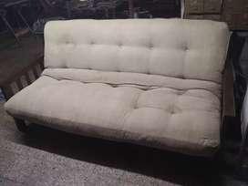 Juego de futónes de madera 3 cuerpos, y un cuerpo,se hacen cama de 2 plazas