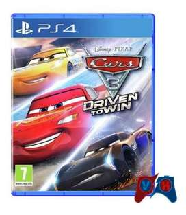 Cars 3 Driven To Win Ps4 Físico
