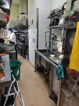 Se solicita personal con experiencia mesero y auxiliar de cocina