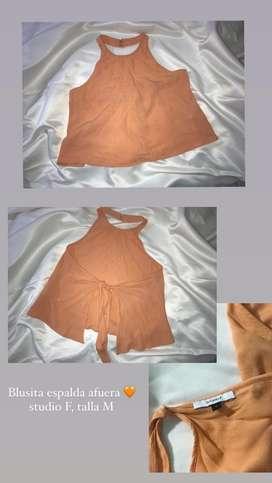 Blusa espalda afuera STUDIO F
