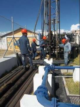 Perforación y Mantenimiento de pozos profundos estudios geoelectricos geólogos con mas de 30 años de experiencia