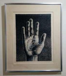 Grabado enmarcado 65 x 50 cm  340.000 Firmado: DUQUE 79 - 11/50