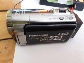 Camara de video panassonic HC V10 M hd video zoom 70 x memoria 16 gb intena  ampliacion memoria sd