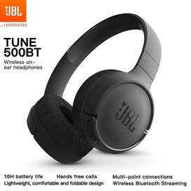 Auricular Bluetooth Jbl Inalambrico Tune 500bt. Garantia Oficial.