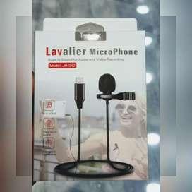MICRÓFONO LAVALIER TIPO C MINI SOLAPERO. Para Smartphone, tablet y Notebook