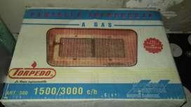 Estufa a Gas Natural usada en buen estado