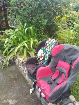 Vendo sillas de seguridad para niñoss