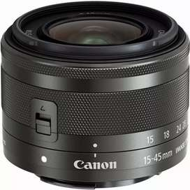Lente Canon ef-m 15-45 IS STM