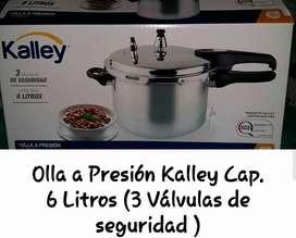 Olla Presión Kalley 6 Litros