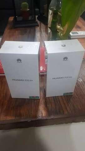 Huawei p20 Lite nuevo en caja con accesorios