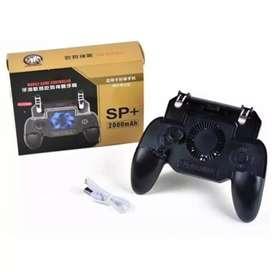 kit control gamer con ventilador, gatillos y joystick