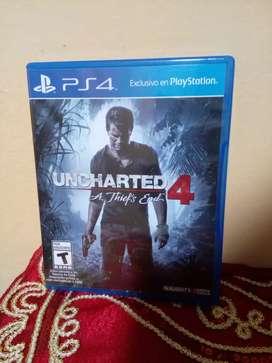 Videojuego Uncharted 4 PS4