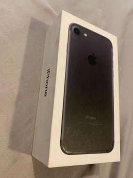 Vendo mi iphone 7 black 32GB