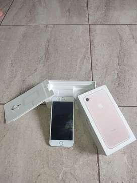 iPhone 7 plus rosado unica dueña