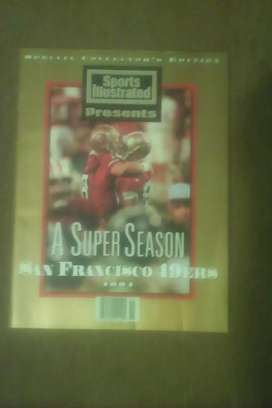 Sports Illustrated presenta San Francisco 49ers 1994 especial edición coleccionista
