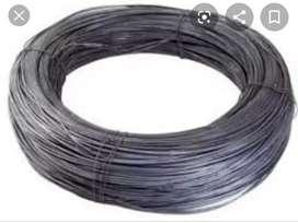 Vendo 14 kg de alambre 17 sin uso, a mitad del precio de mercado