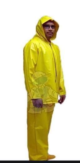 impermeable chaqueta pantalón