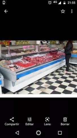 Vendo equipo completo de carnicería funcionando