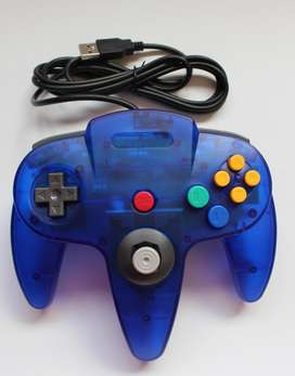 Control Nintendo 64 Con Conexión Usb Para Pc Y Mac