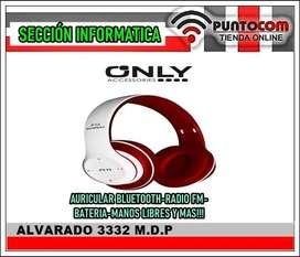 AURICULARES BLUETOOTH P15  RADIO FM EL MAS COMPLETO Y DE MEJOR SONIDO