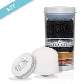 Repuestos Filtro Purificador Agua Ecotrade kit de 3 piezas