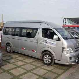Jinbei H2L Diésel tipo hiase Toyota