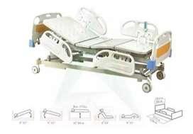 Cama Hospitalaria Eléctrica/manual, Altura Regulable 4 Pocis