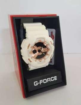 Se vende reloj G-FORCE GOLD, con 6 meses de garantía. Pago contraentrpega