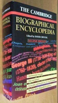 The Cambridge Biographical Encyclopedia - Tapa dura.