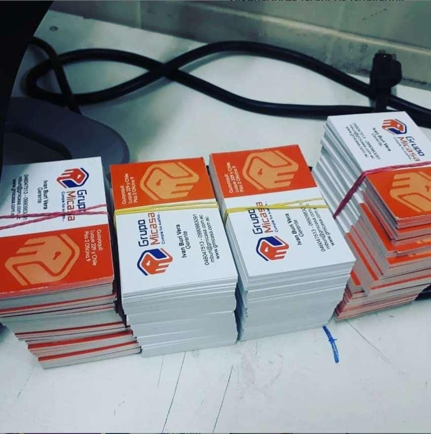 tarjetas de presentacion emprendimiento negocio empresariales