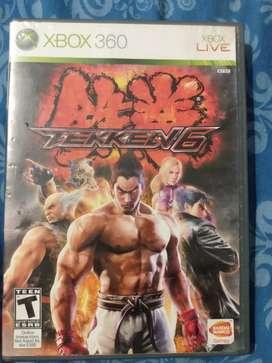 JUEGO XBOX 360 ORIGINAL Tekken 6