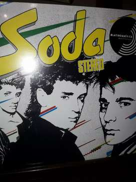 Disco acetato de Soda Estereo