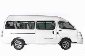 Van de pasajeros 0kms modelo 2020 GOLDEN DRAGON