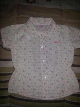 Camisa Estampada Nena Talle de 7a8 Años