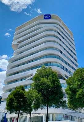 VENDO OFICINA por ESTRENAR 83m2 -Muy buena ubicación y vista- Sector LA CAROLINA