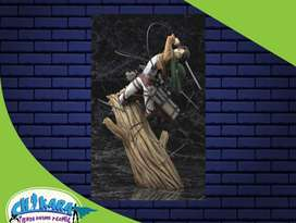 Figuras Shingeki no kyojin Ataque a los titanes eren levi mikasa armin