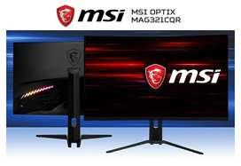 "MONITOR CURVO 32"" MSI MAG321CQR 2K FREESYNC 144HZ 1MS DP/HDMI/USB NUEVOS MODITECPERU2025 PAGO CONTRAENTREGA ENVÍOS"