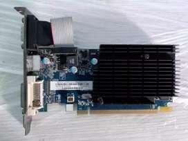 Tarjeta de video 1GB pci express  HD5450  SAPPHIRE ATI RADEON