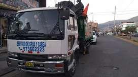 Alquiler de Camion Grua 6tn Abancay