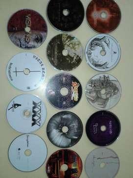 cd originales sin caja metal heavy varios