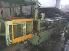 Inyectora de plastico 400grs plc
