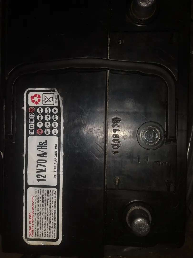 Bateria de calidad (visor de carga) 12v70 amp 0