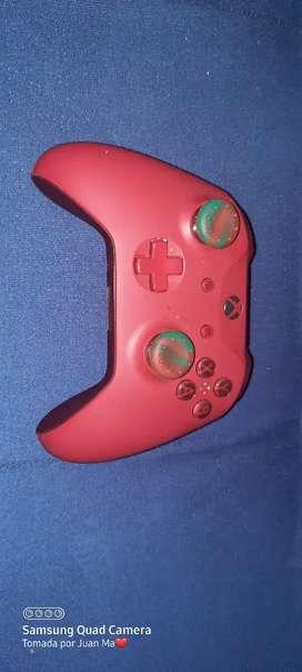 Control xbox one personalizado color rojo