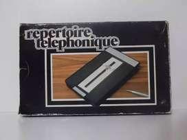 Agenda Telefónica Automática Vintage