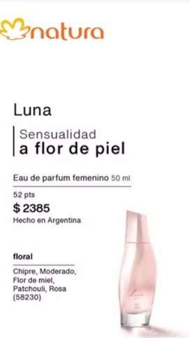 Perfume Luna floral de Natura